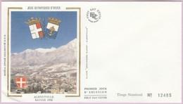 Enveloppe FDC (Non Timbrée) - JO D'Hiver - Albertville Savoie 1992 (Numérotée 12485) - Andere