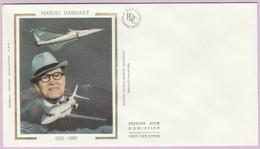 Enveloppe FDC (Non Timbrée) - Marcel Dassault (1892-1986) - Photo Avion Marcel Dassault - Breguet Aviation - Andere