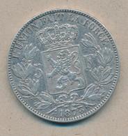 België/Belgique 5 Fr Leopold II 1873 Morin 160 (70358) - 1865-1909: Leopold II