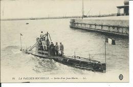 Sortie D'un Sous-Marin -La Pallice-Rochelle - Sous-marins