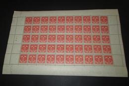 Timbre Monaco NEUF** N° 157 Armoiries  Avec Coin Daté Feuille Complète - Hojas Completas