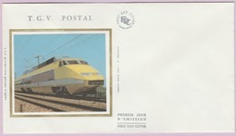 Enveloppe FDC (Non Timbrée) - T G V Postal (Photo SNCF-CAV - P. Olivain) - Andere