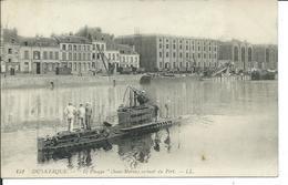 """""""Le PHOQUE"""" Sortant Du Port De Dunkerque - Sous-marins"""