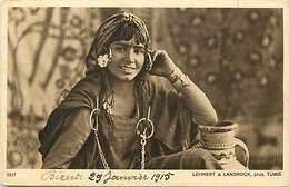 Themes Div-ref AA502- Femmes - Femme - Photographe Lehnert Et Landrock - Tunis   - Carte Bon Etat  - - Andere Fotografen