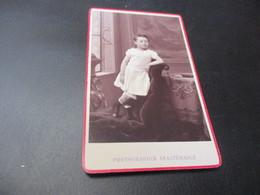CDV - CARTE DE VISITE, 6.50 X 10.50 Cm ,edit Geruzet Freres Bruxelles - Oud (voor 1900)