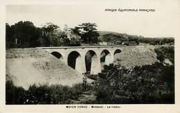 Afrique - Chemins De Fer - Trains - Congo - Brazaville - Congo Français - Moyen Congo - Mindouli - Le Viaduc - Bon état - Congo Français - Autres