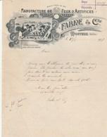 Vaucluse - Monteux - Fabre Et Cie - Manufacture De Feux D'artifices - Artificiers - 1907 - France