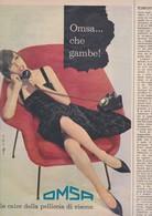 (pagine-pages)PUBBLICITA' OMSA  Epoca1960/531. - Libri, Riviste, Fumetti