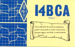 QSL Kaart Carte - Radio - I4BCA - Italy - Dino Raspanti - Imola 1977 - Cartes QSL