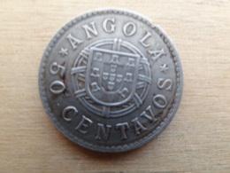 Angola  50  Centavos  1923  Km 65 - Angola