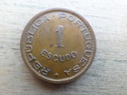 Angola  1  Escudo  1974  Km 76 - Angola