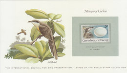 GRENADINES Of ST. VINCENT Mangrove Cuckoo.BARGAIN.!! - Coucous, Touracos
