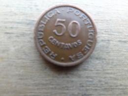 Angola  50  Centavos  1961  Km 75 - Angola