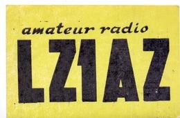 QSL Kaart Carte - Radio - LZ1AZ - Blagoevgrad - Bulgaria  1964 - Cartes QSL