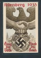 D.-Reich Propaganda Karte 1933   (oo7414  ) Siehe Scan - Deutschland