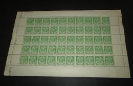 Timbre Monaco NEUF** N° 155 Armoiries  Avec Coin Daté Feuille Complète - Fogli Completi