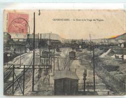 CPA 12 Aveyron Capdenac Gare La Butte Ou Triage Des Wagons Train Chemin De Fer Voies Ferrées - Other Municipalities