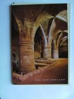 Israël Acre Akko Saint John''s Crypt - Israël
