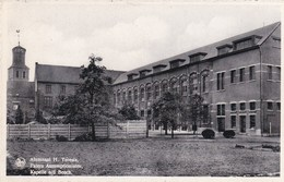 KAPELLE-OP-DEN-BOS - BRABANT FLAMAND - BELGIQUE - CPA DENTELÉE 1947 -  NELS ÉDITEUR - BEL AFFRANCHISSEMENT POSTAL. - Kapelle-op-den-Bos