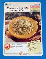 LINGUINE CON PESTO DI ZUCCHINE - Ricette Culinarie
