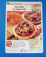 PIZZETTE AI PEPERONI - Ricette Culinarie