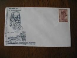 FDC Lettre Inde  1969  -  Dr. Bhagavan  Das - FDC