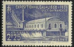 """FR YT 430 """" Exposition De L'eau à Liège """" 1939 Neuf* - Unused Stamps"""
