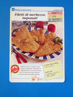 FILETTI DI MERLUZZO IMPANATI - Ricette Culinarie