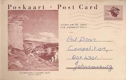 South Africa & Postal Stationery, Golden Gate Highlands National Pietersburg To Johannesburg 1961 (7689) - South Africa (1961-...)