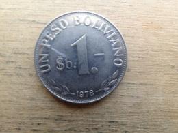 Bolivie  1  Peso  Boliviano  1978  Km 192 - Bolivia