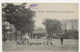 75 - PARIS 12 -- #188 -- Rue Michel Bizot Et Pont Du Chemin De Fer +++ E. V. / EV +++ 1912 - Arrondissement: 12