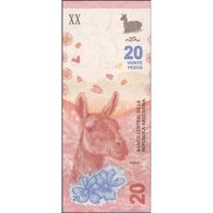 TWN - ARGENTINA 362 - 20 Pesos 2017 Serie A - Signatures: Sturzenegger & Michetti UNC - Argentine