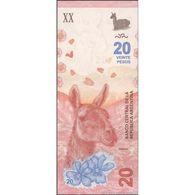 TWN - ARGENTINA 362 - 20 Pesos 2017 Serie A - Signatures: Sturzenegger & Michetti UNC - Argentina
