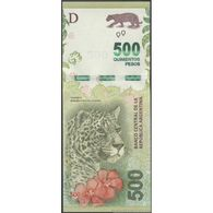 TWN - ARGENTINA 366 - 500 Pesos 2016 Serie E - Signatures: Sturzenegger & Michetti UNC - Argentina