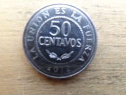 Bolivie  50 Centavos  2012  Km !!!! - Bolivie