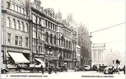 Paradise Street, Birmingham, 1938 - Birmingham Public Libraries - Birmingham