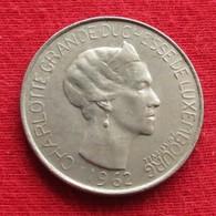Luxembourg 5 Francs 1962 KM# 51 Luxemburgo Luxemburg - Luxembourg