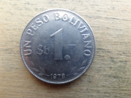 Bolivie  1  Peso  Boliviano  1978  Km 192 - Bolivie