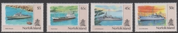 Norfolk Island ASC 489-492 1991 Ships Pt 2, Mint Never Hinged - Norfolk Island