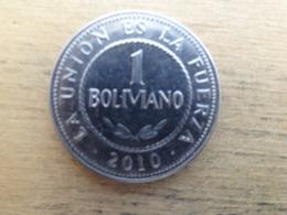 Bolivie  1  Boliviano 2010  Km 217 - Bolivie