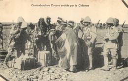 CONTREBANDIERS DRUZES ARRETES PAR LA COLONNE - Lebanon