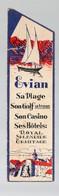Evian (74 Haute Savoie) : Marque-page: EVIAN  LA SOURCE CACHAT  (PPP17528) - Marcapáginas