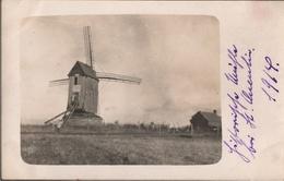 ! 1914 , Saint Quentin [02], 1. Weltkrieg, Seltenes Foto, Photo, Windmühle, Windmill, Moulin A Vent, Frankreich - Moulins à Vent