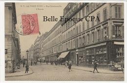 75 - PARIS 18 -- #195 -- Rue Doudeauville - L'Entrée +++ E. V. / EV +++ 1907 - Arrondissement: 18