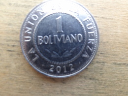 Bolivie  1  Boliviano 2012  Km !!! - Bolivie