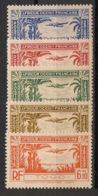 Togo - 1940 - Poste Aérienne PA N°Yv. 1 à 5 - Série Complète - Neuf Luxe ** / MNH / Postfrisch - Ungebraucht