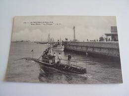 """SOUS-MARIN """"le Phoque"""" à LA ROCHELLE-PALLICE - Cartoline"""