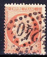 France - Yv 23, Timbre Avec Varieté - 1862 Napoleon III