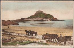 St Michael's Mount, Cornwall, 1938 - Postcard - St Michael's Mount