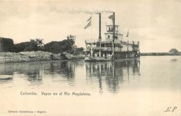 COLOMBIA VAPOR EN EL RIO MAGDALENA - Colombia
